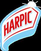 Harpic logo.