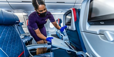 Delta Air Lines teams up with RB, the makers of Lysol®, to advance Delta Carestandard and disinfection protocols