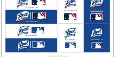 Major League Baseball teams up with Lysol