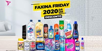 Faxina Friday da RB Hygiene Comercial garante acesso a produtos de limpeza com descontos imperdíveis
