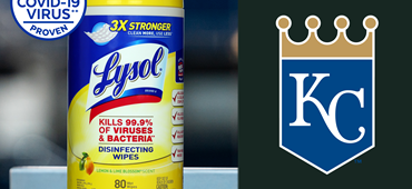 Kansas City Gives a 'Royal' Welcome to Lysol