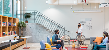 We're joining forces with WeWork to provide sanitisation solutions for offices in the UK